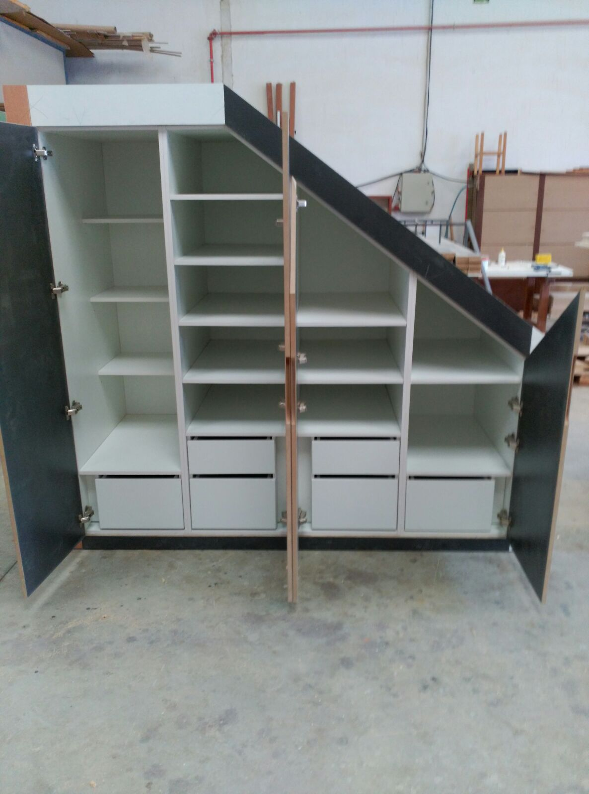 Armarios fabrica fabricacion muebles a medida valencia 18 for Fabrica muebles valencia