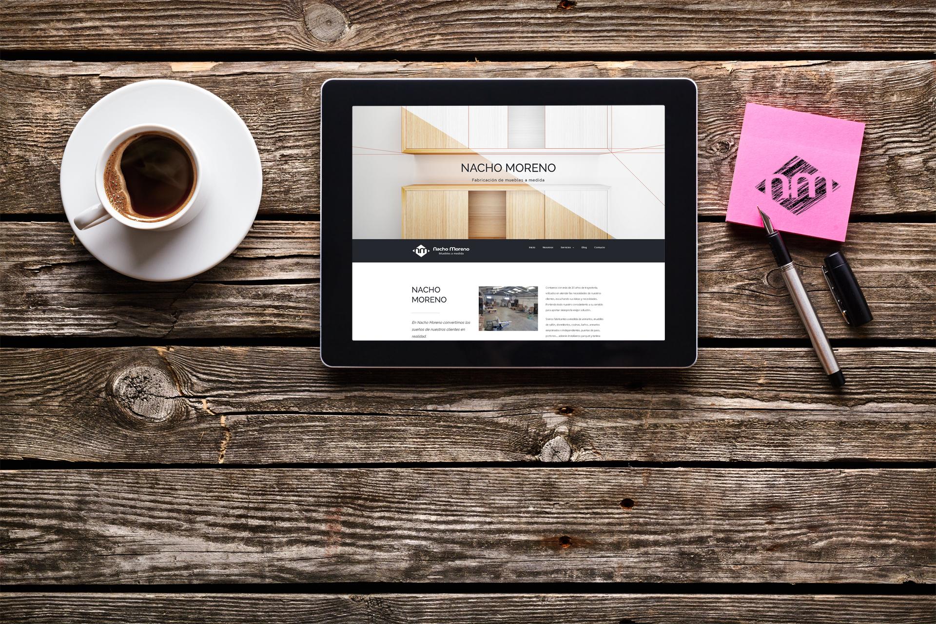 Estrenamos Nueva Web Muebles A Medida En Valencia Nacho Moreno # Muebles Pagina Web